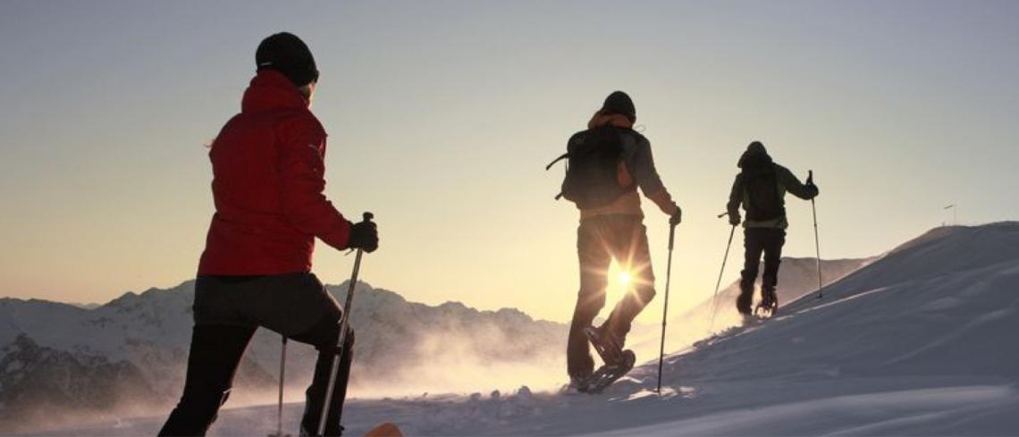 Raquetas de nieve al Lago Ausente 13 y 14 de marzo