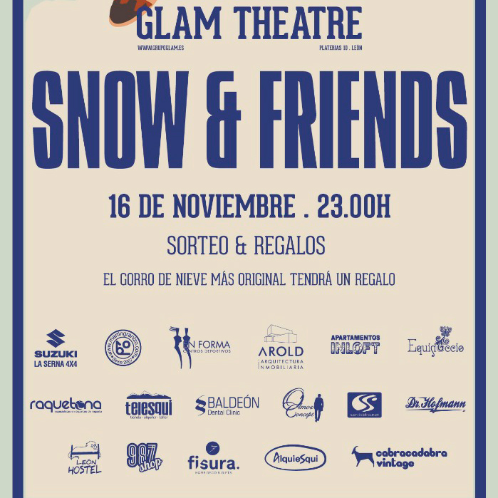 Cartel Snow&Friends 2018